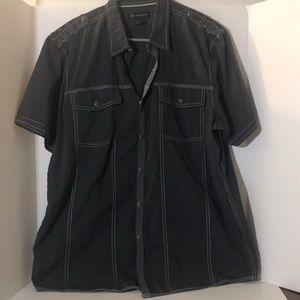 INC international concepts s L short sleeve shirt